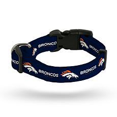 Officially Licensed NFL Small Pet Collar - Broncos