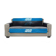 Officially Licensed NFL Sofa Cover - Carolina Panthers