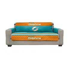 Officially Licensed NFL Sofa Cover - Miami Dolphins