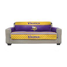 Officially Licensed NFL Sofa Cover - Minnesota Vikings