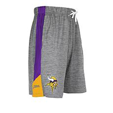 Officially Licensed NFL Soft Space-Dyed Knit Short by Zubaz
