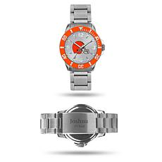Officially Licensed NFL Sparo Key Personalized Watch - Browns