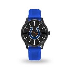 "Officially Licensed NFL Sparo Team Logo ""Cheer"" Strap Watch - Colts"