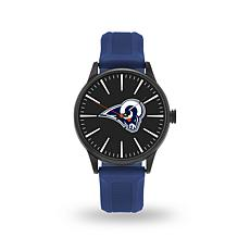 "Officially Licensed NFL Sparo Team Logo ""Cheer"" Strap Watch - Rams"