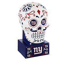 Officially Licensed NFL Sugar Skull Garden Statue