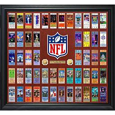 Officially Licensed NFL Super Bowl 52-Ticket Replica Collection
