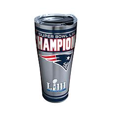 Officially Licensed NFL Super Bowl LIII Champs 30oz Stainless Tumbl...