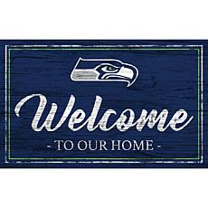 Officially Licensed NFL Team Color Sign - Seattle Seahawks