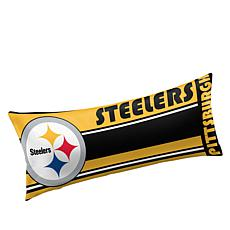 Officially Licensed NFL Team Logo Body Pillow