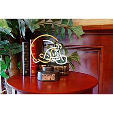 Officially Licensed NFL Team Logo Neon Lamp - Browns