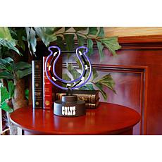 Officially Licensed NFL Team Logo Neon Lamp - Colts