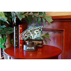 Officially Licensed NFL Team Logo Neon Lamp - Eagles