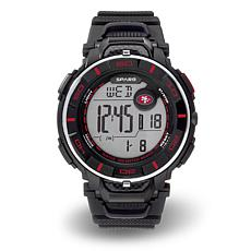 "Officially Licensed NFL Team Logo ""Power"" Digital Sports Watch - 49ers"