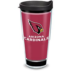 Officially Licensed NFL  Touchdown 24oz. Tumbler with lid - Arizona