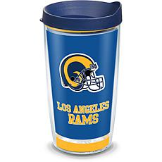 Officially Licensed NFL Touchdown  Tumbler w/ Lid - Los Angeles Rams