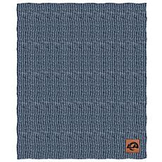 Officially Licensed NFL Two Tone Cable Knit Throw Blanket - Rams