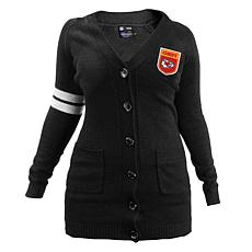 Officially Licensed NFL Varsity Cardigan - Chiefs