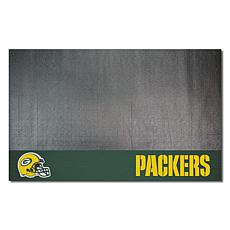 Officially Licensed NFL Vinyl Grill Mat  - Green Bay Packers