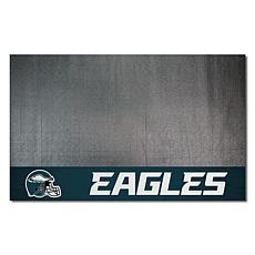 Officially Licensed NFL Vinyl Grill Mat  - Philadelphia Eagles