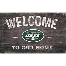 Officially Licensed NFL Welcome Sign - New York Jets
