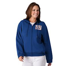release date: e2ae8 72178 Officially Licensed NFL Women's Full-Zip Hoodie by Glll