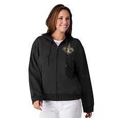 Officially Licensed NFL Women's Full-Zip Hoodie by Glll