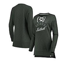 Officially Licensed NFL Women's Hyper Lace-Up Tunic by Fanatics