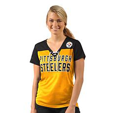 Officially Licensed NFL Women s Shake Down Short-Sleeve Tee by Glll 5707d2453