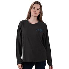 Officially Licensed NFL Women's Vintage Long-Sleeve Tee by Glll