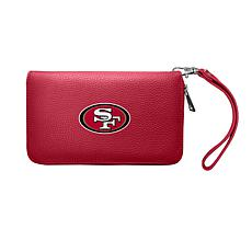 Officially Licensed NFL Zip Organizer Wallet - San Francisco 49ers