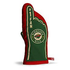 Officially Licensed NHL #1 Fan Oven Mitt - Minnesota Wild