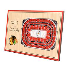 Officially-Licensed NHL 3-D StadiumViews Display - Chicago Blackhawks