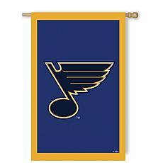 Officially Licensed NHL Applique House Flag - St. Louis Blues