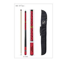 Officially Licensed NHL Pool Cue and Case