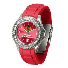 Officially Licensed NHL Sparkle Series Watch - Chicago Blackhawks
