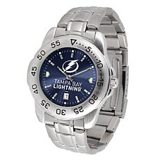 Officially Licensed NHL Sport Steel Series Watch - Tampa Bay Lightning