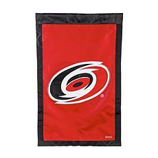 Officially Licensed NHL Team Logo House Flag - Carolina Hurricanes