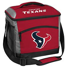 Officially Licensed Soft-Sided Insulated 24-Can Cooler Bag - Texans