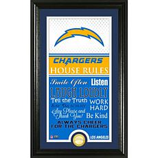 OfficiallyLicensed NFL Jersey House Rules Supreme Photo Mint- Chargers