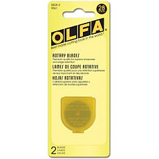 Olfa Rotary Blade Refill - 28mm/2-pack