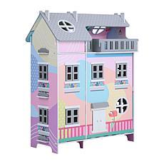 "Olivia's Little World Dreamland Sunroom 3.5"" Doll House, Multi-Color"