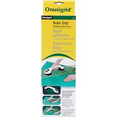 Omnigrid Double Suction Cup Ruler Grip - White