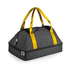 Oniva by Picnic Time Potluck Tote Anthology - Gray with Gold Accents