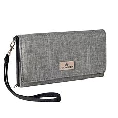Organizzi RFID Slim Wallet Wristlet in TECSTYLE Fabric