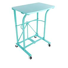 Origami Folding Steel Trolley Table