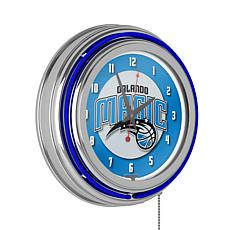 Orlando Magic Double Ring Neon Clock