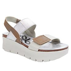 OTBT Travel Lite® Nova Leather Wedge Sandal