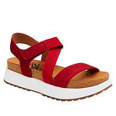 OTBT Travel Lite® Sierra Leather Flatform Sandal