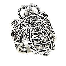 Ottoman Silver Jewelry Collection Bumble Bee Filigree Ring