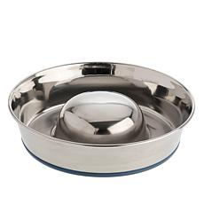 OurPets® 5-cup Slow Feed Bowl with Non-Slip Bottom